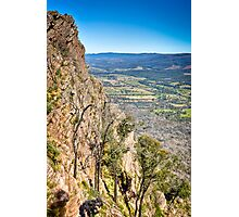 Autumn Afternoon on Ridge Track Photographic Print