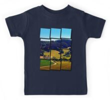 Hiking through springtime scenery Kids Tee