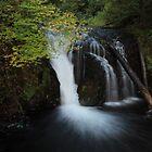 Multnomah Falls by Michael Lucas