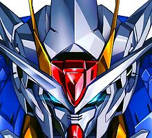 Head 00 Gundam by wawazer