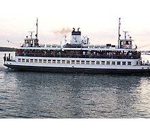 The Ferry to Centre Island, Toronto Photographic Print