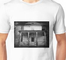 They Boarded Up The Upper Floor  Unisex T-Shirt