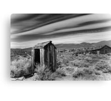 """Nowhere to Go"" Bodie, Old Houses Canvas Print"