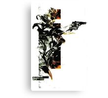Metal Gear Solid: Solid snake Canvas Print