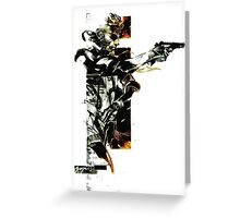 Metal Gear Solid: Solid snake Greeting Card