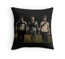 unexpected hero of the scorch trials Throw Pillow