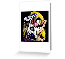 THE KILLING WARIO Greeting Card