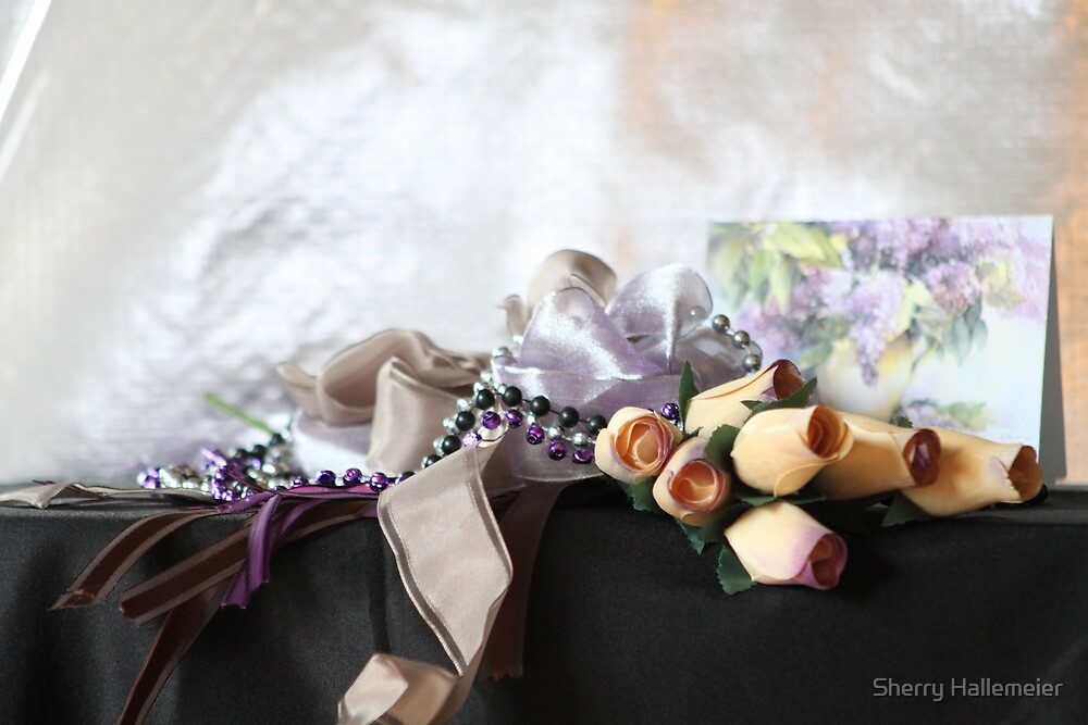 Tulips and Ribbons   By Invitation Only by Sherry Hallemeier