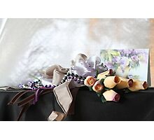 Tulips and Ribbons   By Invitation Only Photographic Print