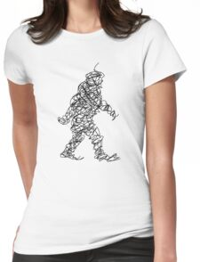 Wandering Doodle Womens Fitted T-Shirt