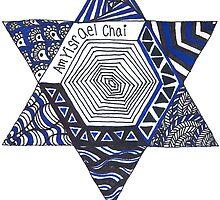Jewish Star Doodle by Marlena Penn