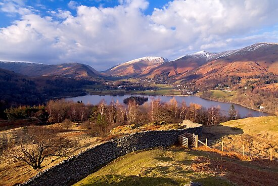 Grasmere - The Lake District by Dave Lawrance