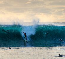 Late Afternoon Surf - Indijup Beach West Australia by Chris Paddick