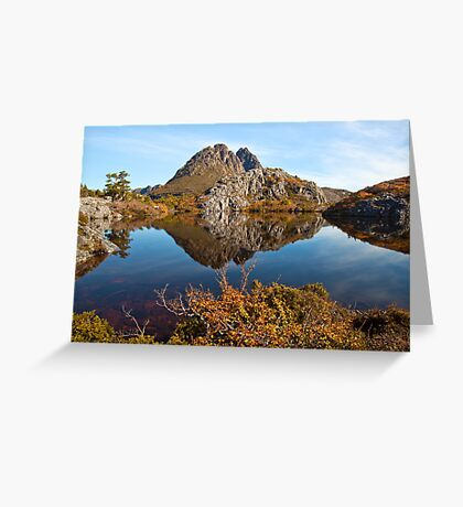 Twisted Cradle Greeting Card