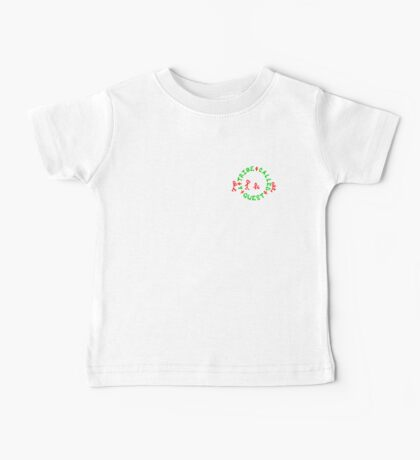 A Tribe Called Quest replica chest  Baby Tee