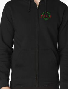 A Tribe Called Quest replica chest  Zipped Hoodie