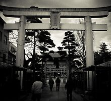 Shinto Shrine by Janice Kho