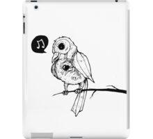 Gothic Birdie iPad Case/Skin