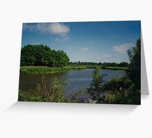 Beautiful scenery along the Mighty Grand River Greeting Card