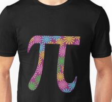 Spring pi tshirts  flowery colorful pi day gifts Unisex T-Shirt