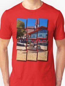 Beautiful traditional village fountain Unisex T-Shirt