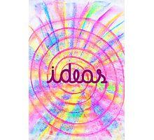 Bright Ideas Photographic Print