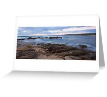 Inji Point - Injidup Beach Western Australia Greeting Card