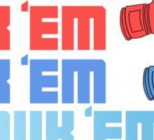 Rock em Sock em Hadouk em (ver2) Sticker