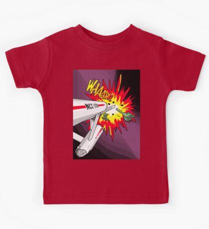 Lichtenstein Star Trek - Whaam! Kids Tee