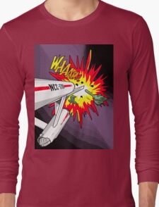 Lichtenstein Star Trek - Whaam! Long Sleeve T-Shirt