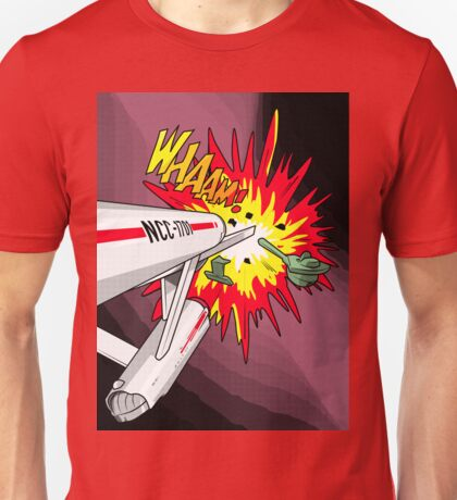 Lichtenstein Star Trek - Whaam! Unisex T-Shirt
