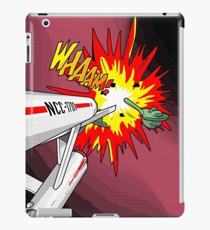 Lichtenstein Star Trek - Whaam! iPad Case/Skin
