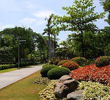 Ayala Triangle Garden by iamYUAN