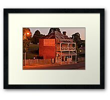 Produce Store at Hill End. Framed Print