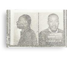 Dr. Reverand Martin Luther King Jr. Metal Print