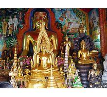 Buddhas Temple Photographic Print