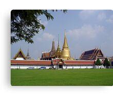 Bangkok Temple Canvas Print