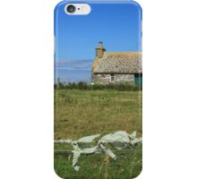 Country cottage, Sanday, Orkney iPhone Case/Skin