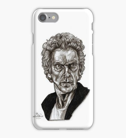 Peter Capaldi - Doctor Who - Drawing  iPhone Case/Skin