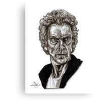 Peter Capaldi - Doctor Who - Drawing  Canvas Print