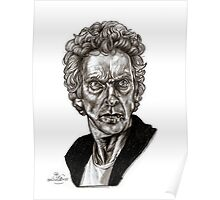 Peter Capaldi - Doctor Who - Drawing  Poster