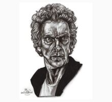 Peter Capaldi - Doctor Who - Drawing  Kids Tee