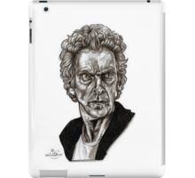 Peter Capaldi - Doctor Who - Drawing  iPad Case/Skin