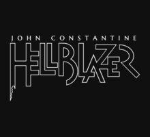 Hellblazer Logo - White One Piece - Short Sleeve