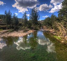 Turon Reflections - Hill End NSW - The HDR Experience by Philip Johnson