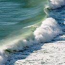 Piha Surf - Northland NZ by Jenny Dean