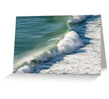 Piha Surf - Northland NZ Greeting Card