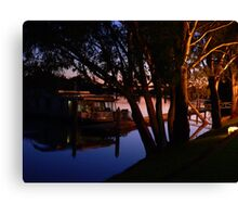 Murray River Scene @ Evening Canvas Print