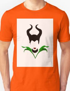 Maleficent Minimalist Design  T-Shirt