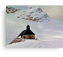 Highest church in Germany Metal Print